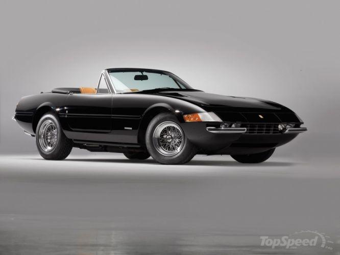 4 Daytona convertible cars classic wallpaper