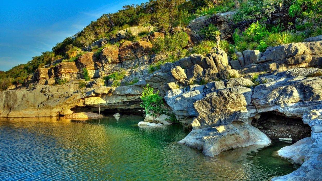 amazing beautiful landscape nature bay wallpaper