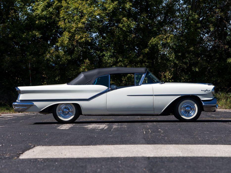 1957 3067dx 9-8 convertible luxury oldsmobile retro starfire wallpaper