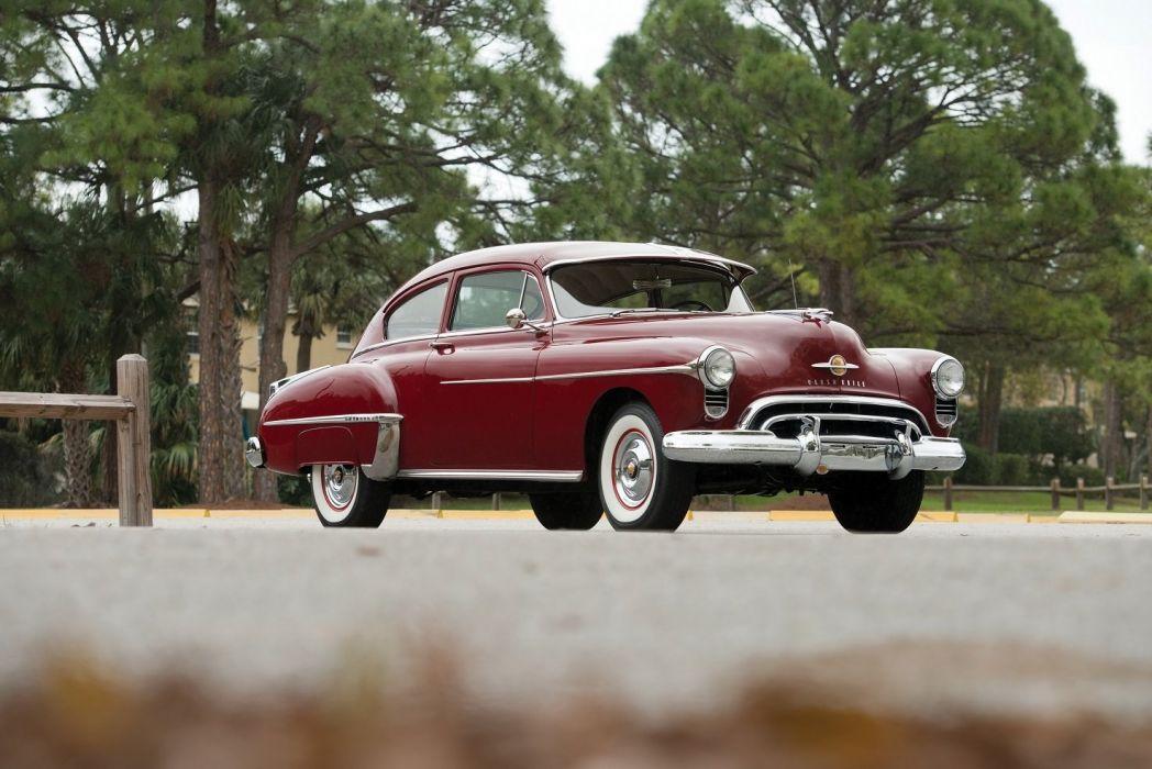 1950 Oldsmobile Futuramic-88 Deluxe Club Sedan cars classic wallpaper