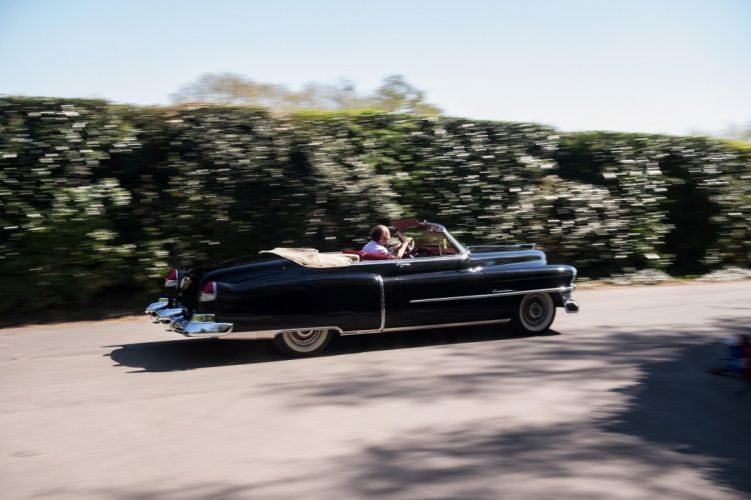 1953 Cadillac Sixty-Two Convertible Coupe cars classic wallpaper