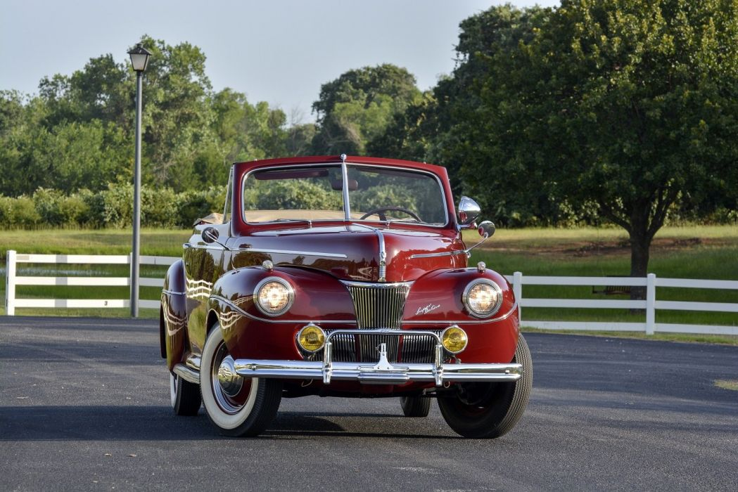 1941 Ford-V8 Super Deluxe Convertible Coupe cars classic wallpaper