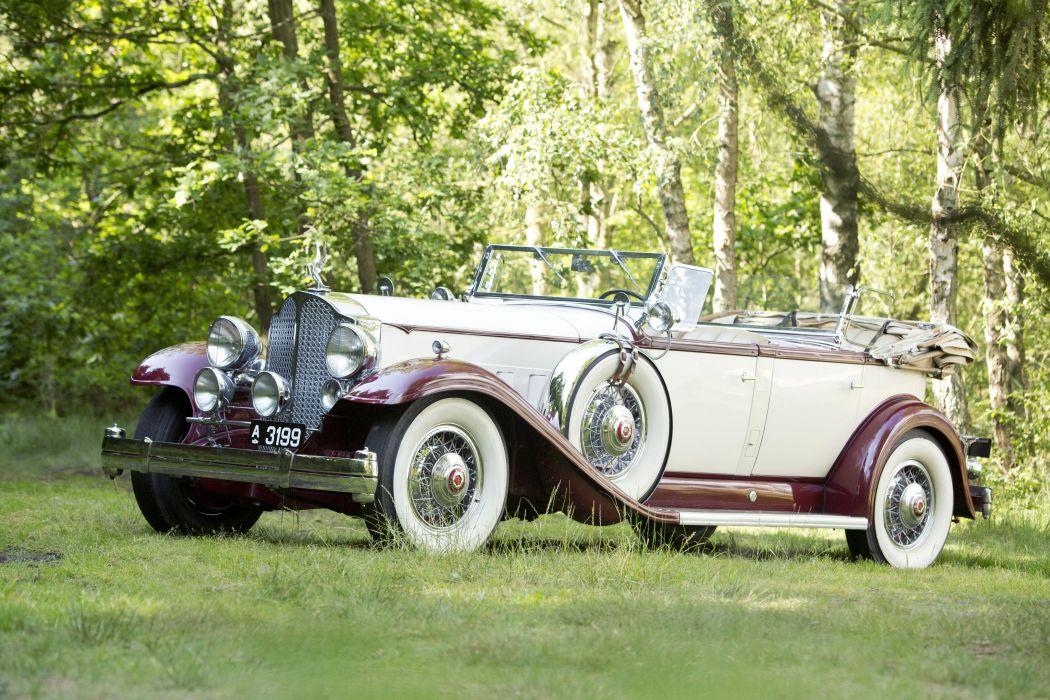 1932 Packard Twin Six Phaeton classic cars wallpaper