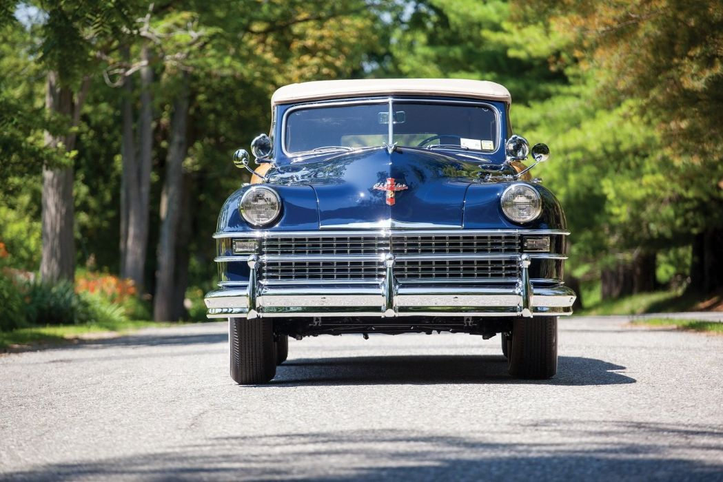 1947 Chrysler New Yorker Convertible Coupe Town & Country classic cars wallpaper