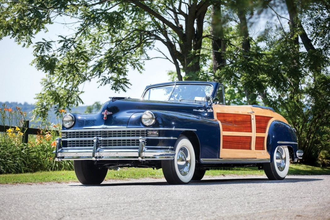1947 Chrysler New Yorker Convertible Coupe Town & Country classic ...