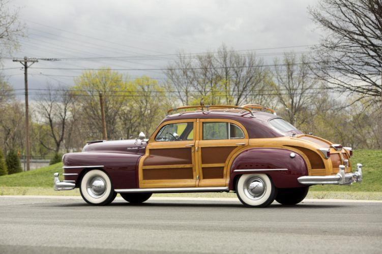 1948 Chrysler Windsor Town & Country Sedan classic cars wallpaper