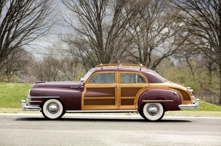 1948 Chrysler Windsor Town & Country Sedan classic cars wallpaper