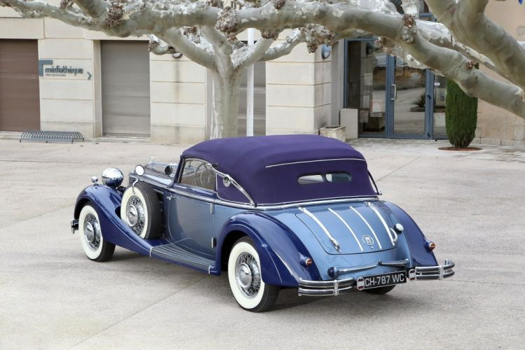 1937 853 cabriolet horch luxury retro Sport classic cars wallpaper
