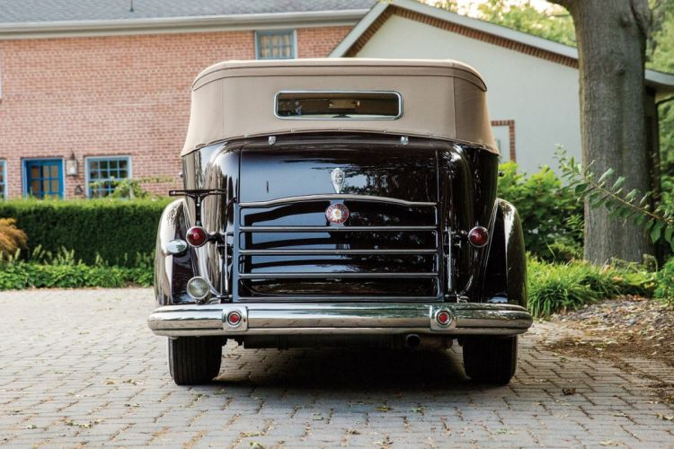 1937 Packard Twelve Convertible Sedan by Dietrich classic cars wallpaper