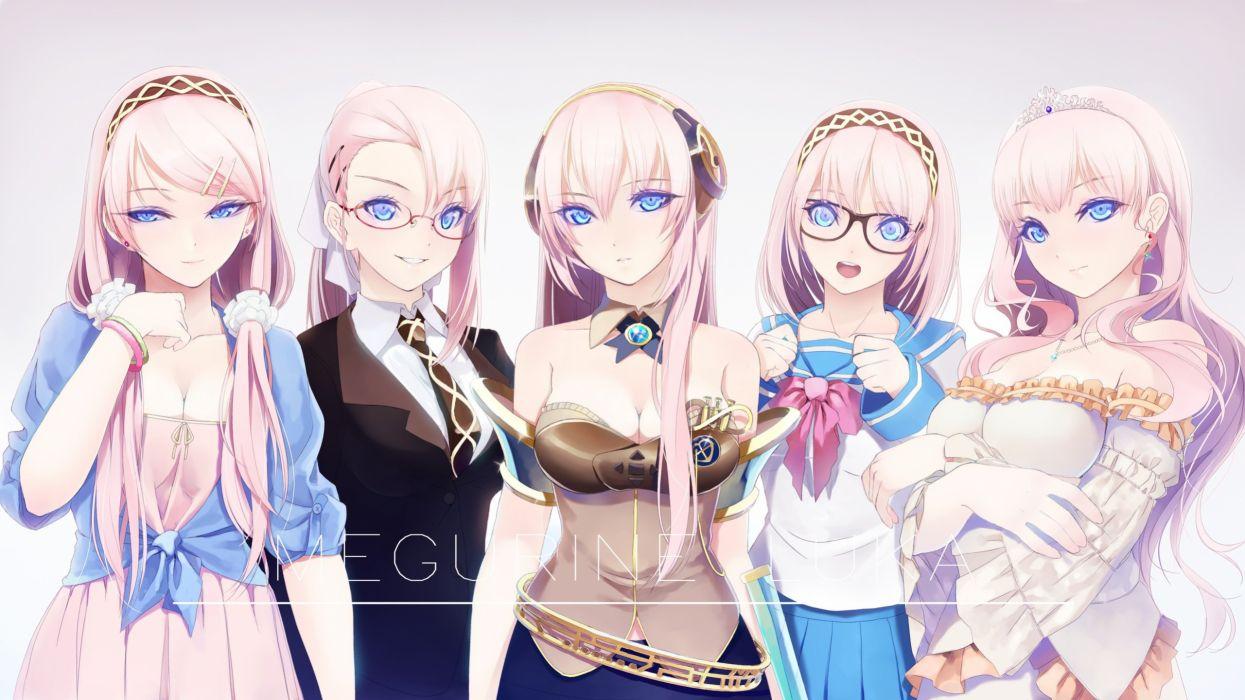 5 chicas mangas anime wallpaper