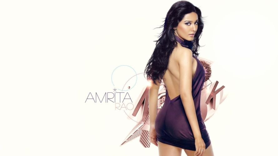 amrita rao bollywood actress model girl beautiful brunette pretty cute beauty sexy hot pose face eyes hair lips smile figure indian wallpaper