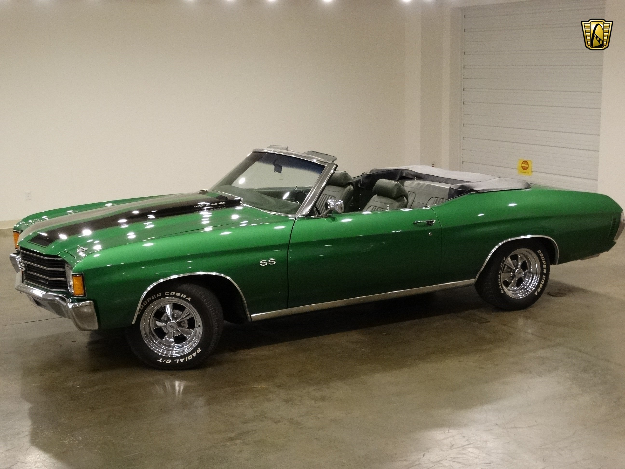 1972 Chevrolet Chevy Chevelle Convertible Green Classic