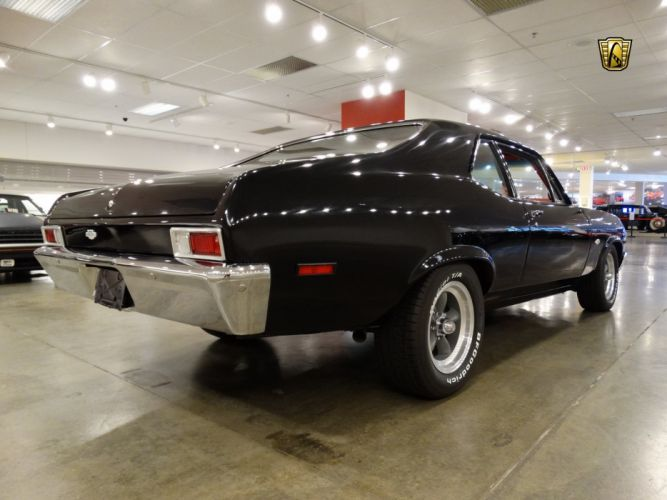 1972 Chevrolet chevy Nova Yenko Tribute black classic cars wallpaper