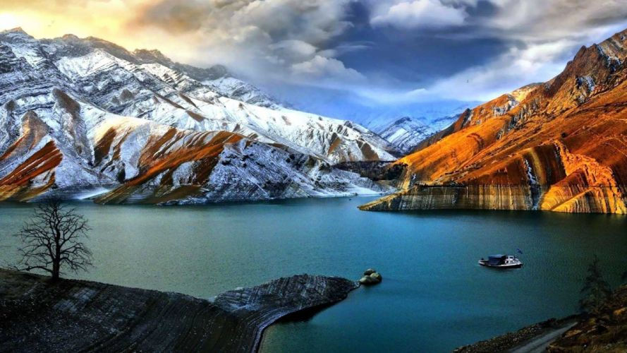 nature landscape beauty beautiful sky mountain wallpaper