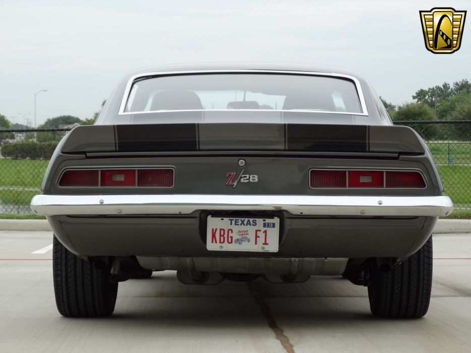 1969 z28 Chevrolet chevy camaro coupe classic cars wallpaper