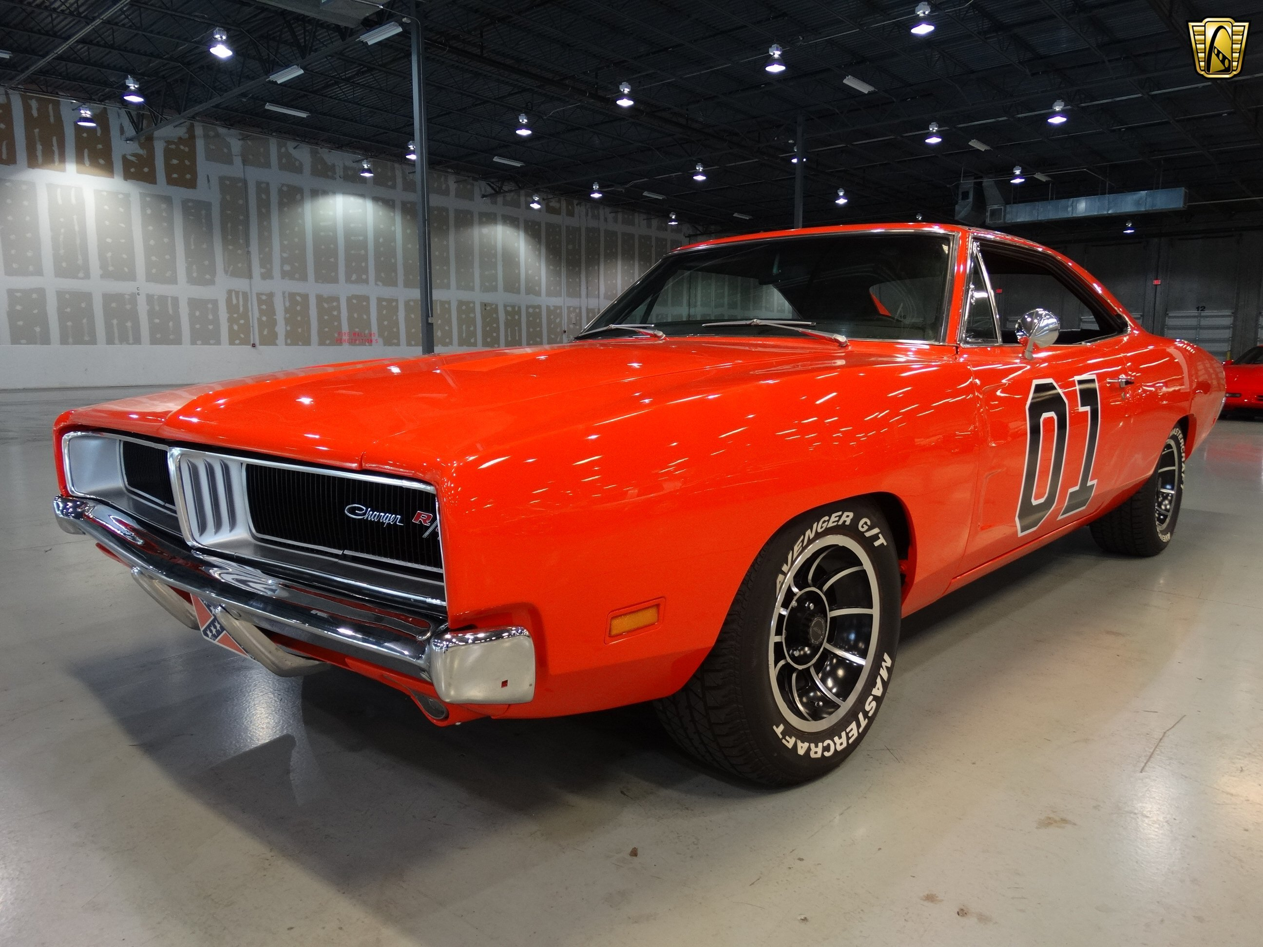 Dodge Charger General Lee Orange Classic Cars Wallpaper