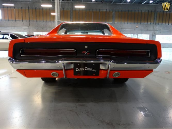1969 Dodge Charger General Lee orange classic cars wallpaper