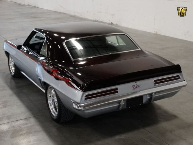 1969 Chevrolet chevy Camaro Z-28 tribute cars coupe classic wallpaper