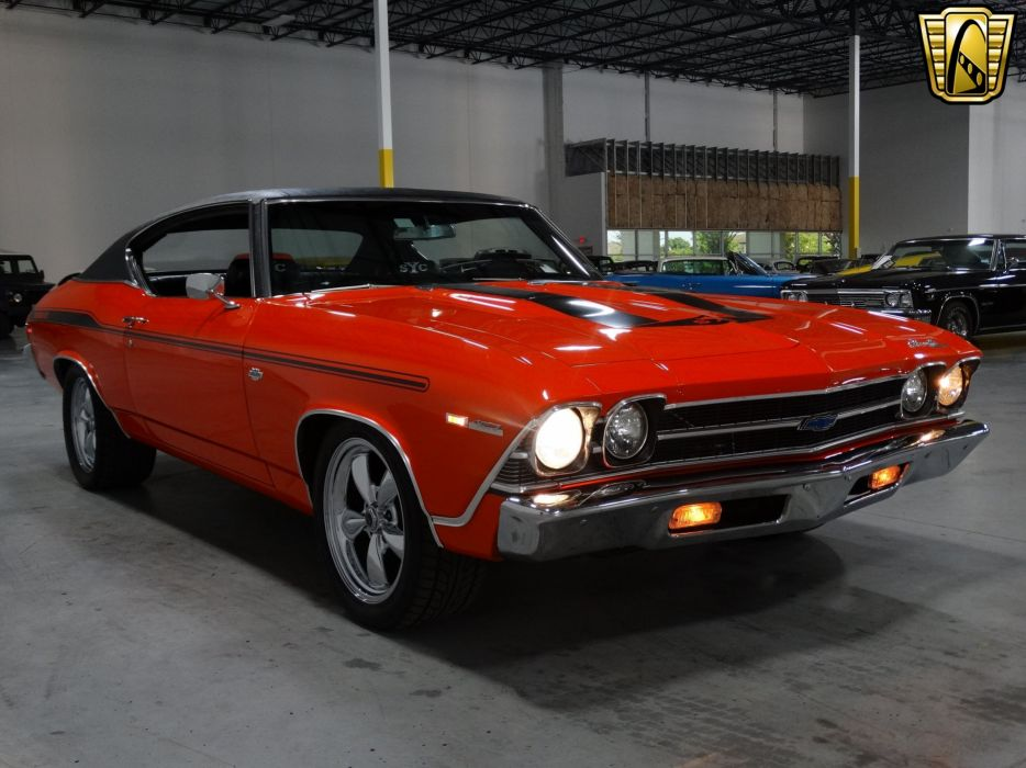 1969 Chevrolet Chevelle chevy Yenko Tribute coupe cars classic wallpaper