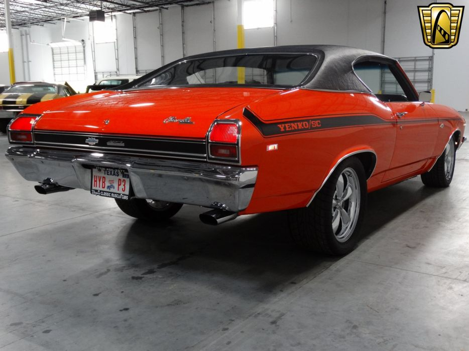 1969 Chevrolet Chevelle chevy Yenko Tribute coupe cars classic wallpaper