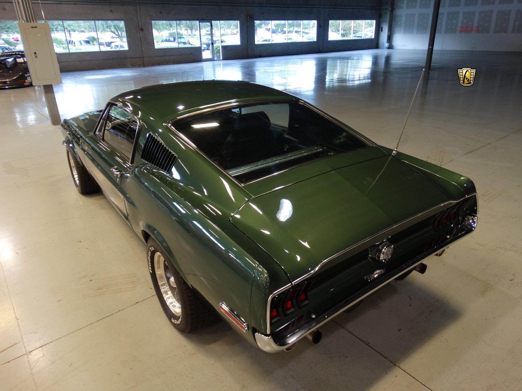 1968 Ford Mustang Bullitt 390 Fastback Green Cars Classic