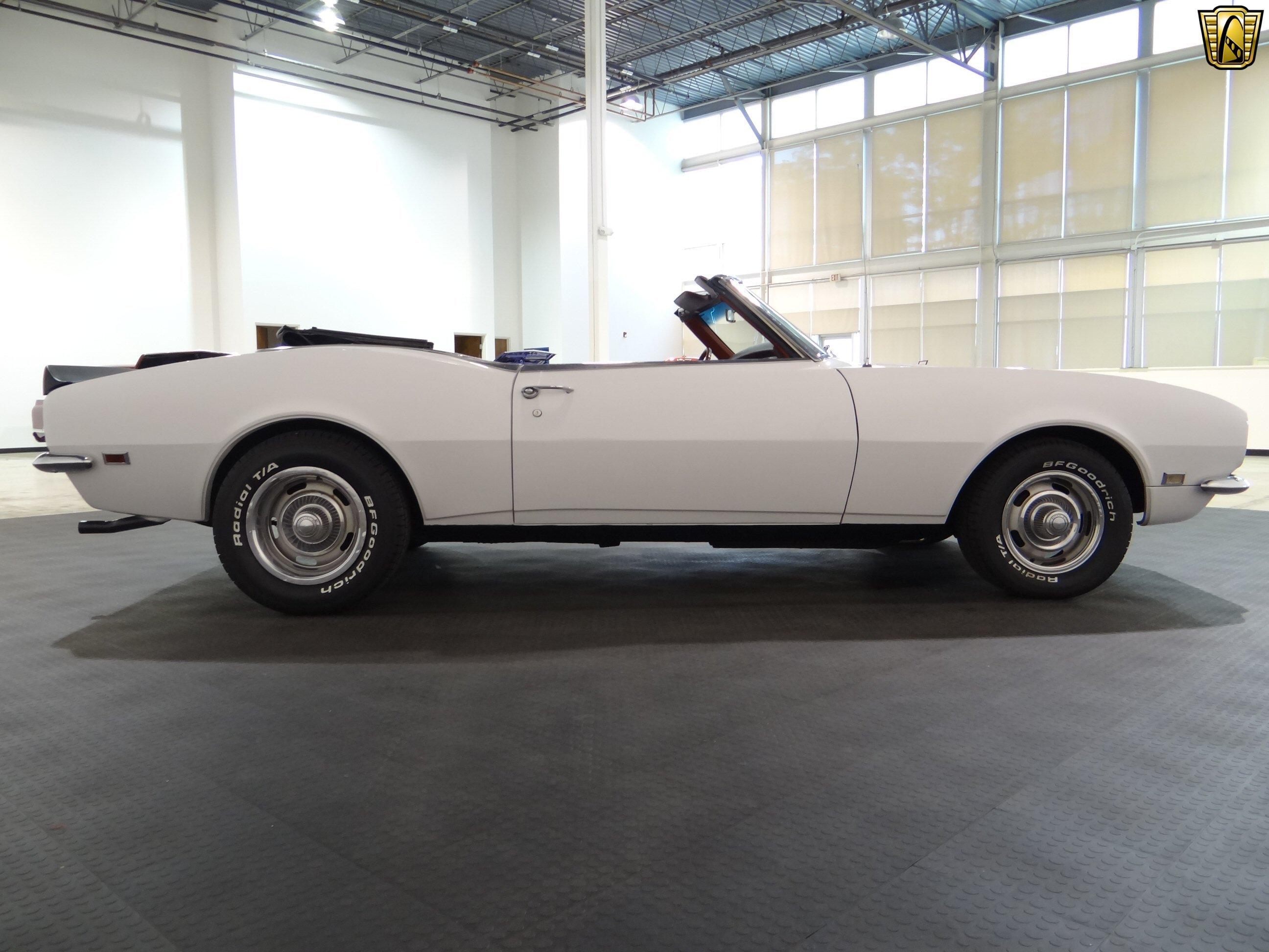 1968 Chevrolet Camaro Chevy Cars White Convertible Classic Wallpaper 2592x1944 802352 Wallpaperup
