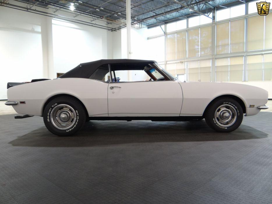1968 Chevrolet Camaro chevy cars white convertible classic wallpaper
