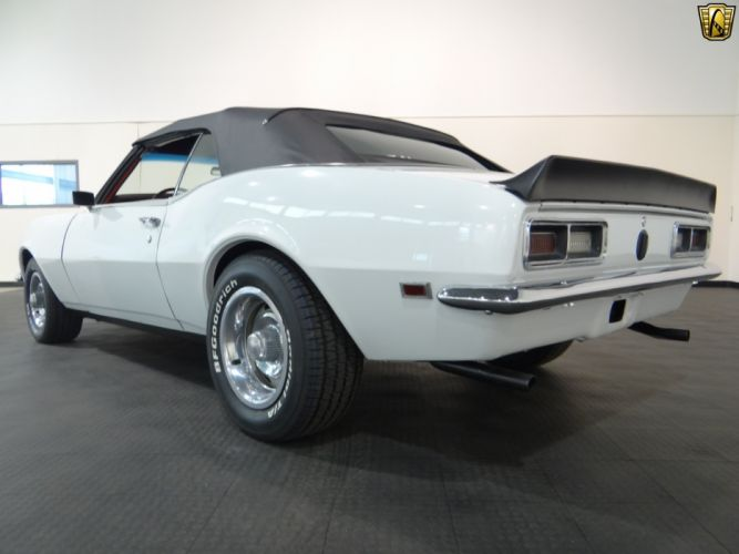 1968 Chevrolet Camaro chevy cars white convertible classic wallpaper