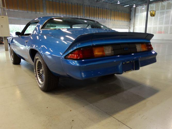1979 Chevrolet Camaro z-28 blue chevy cars classic wallpaper