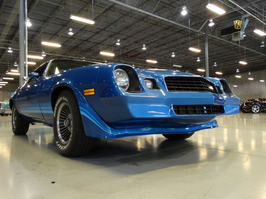 1979 Chevrolet Camaro z-28 blue chevy cars classic wallpaper
