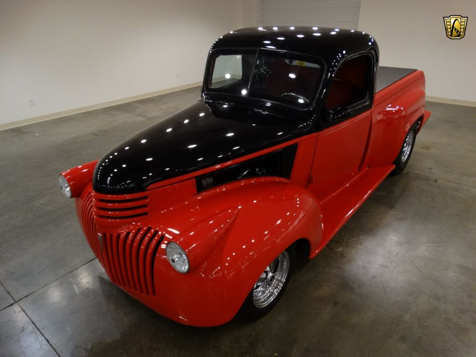 1946 Chevrolet Truck pickup AK-series cars classic custom wallpaper