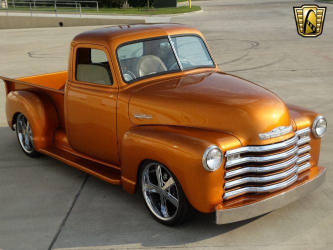 1950 Chevrolet 3100 pickup cars classic custom wallpaper