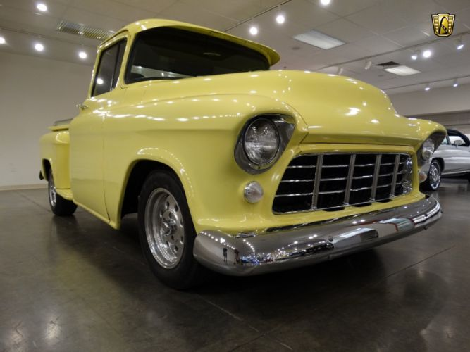 1955 Chevrolet 3100 pickup cars classic custom wallpaper