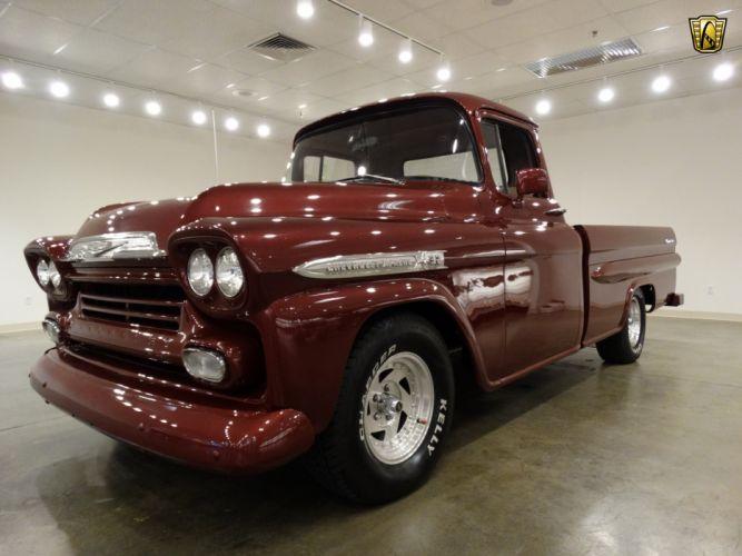 1959 Chevrolet Apache pickup cars classic custom wallpaper