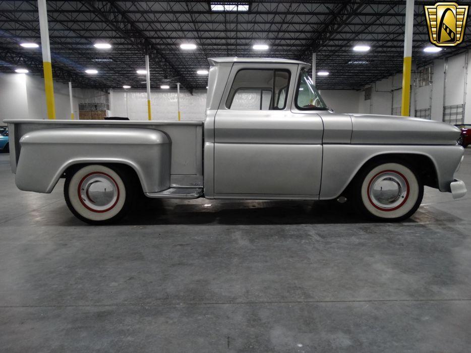 1960 Chevrolet C10 pickup cars classic custom wallpaper