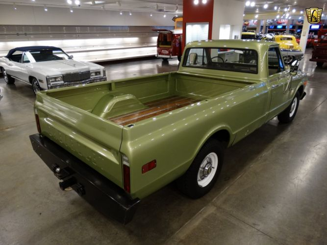 1971 Chevrolet C20 pickup cars classic custom wallpaper