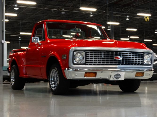 1971 Chevrolet C10 StepSide pickup cars classic custom wallpaper
