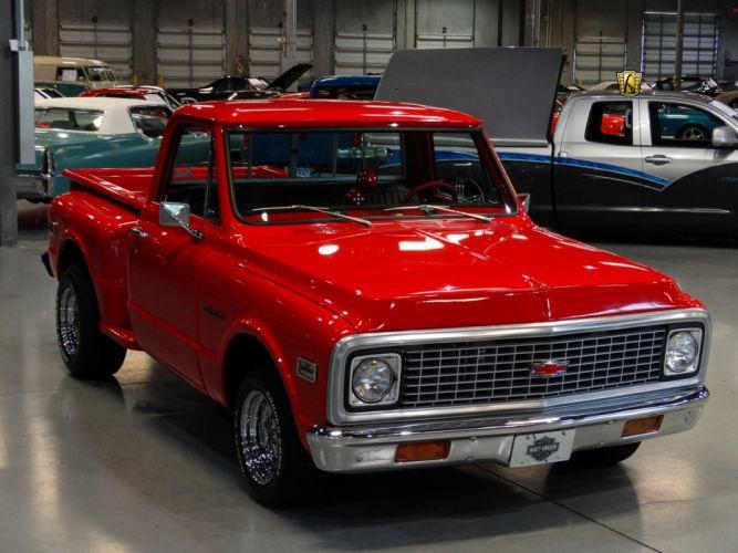 1971 Chevrolet C10 StepSide pickup cars classic custom wallpaper