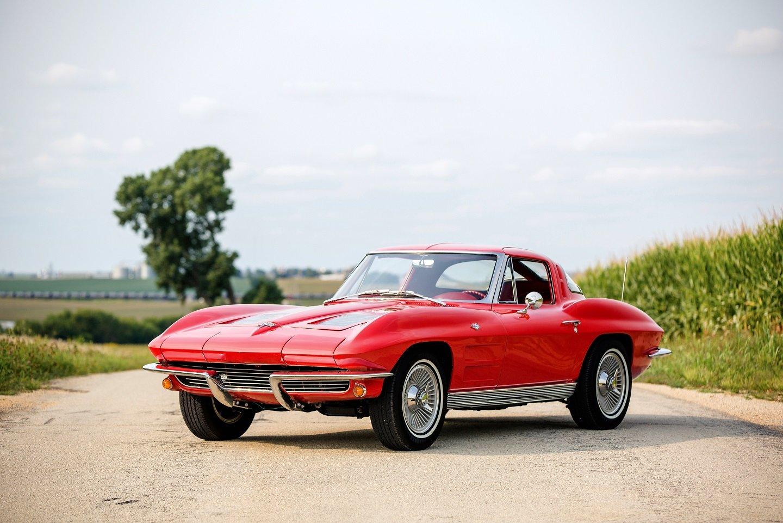 1963 Chevrolet Chevy Corvette Stingray L76 C2 Cars Red