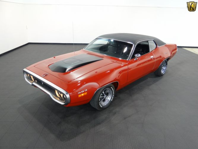 1971 Plymouth Road Runner cars classic wallpaper