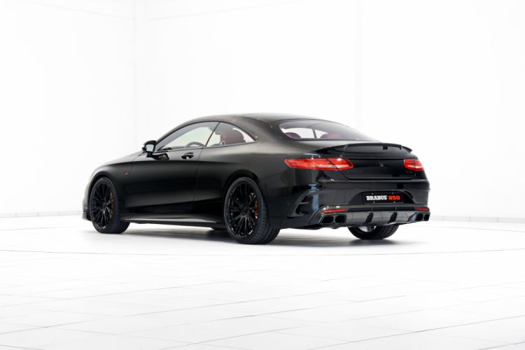Brabus Mercedes S63 AMG Coupe 850 black (C217) modified 2015 wallpaper