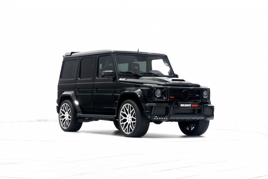 Brabus G-850 Biturbo Widestar (W463) 2015 modified cars black wallpaper