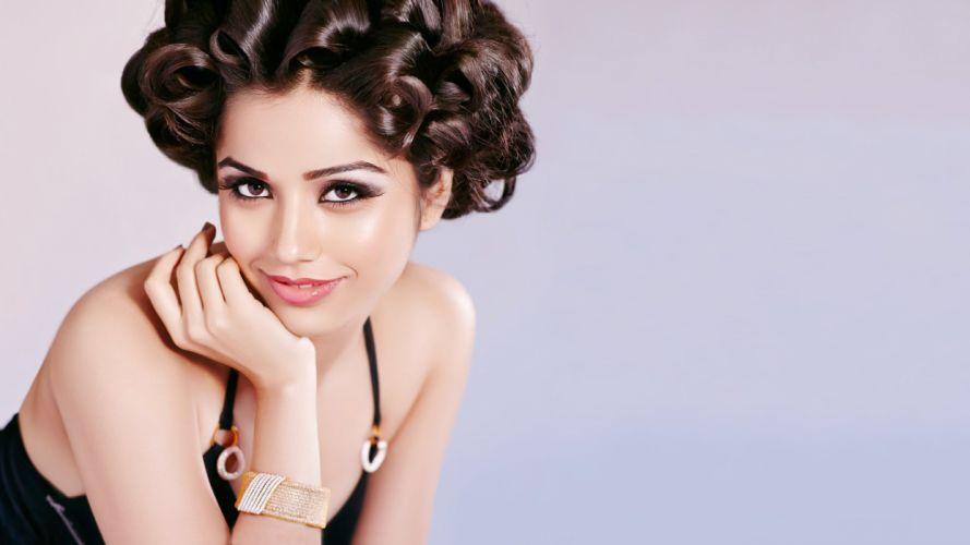 aparna bajpai bollywood actress model girl beautiful brunette pretty cute beauty sexy hot pose face eyes hair lips smile figure indian wallpaper