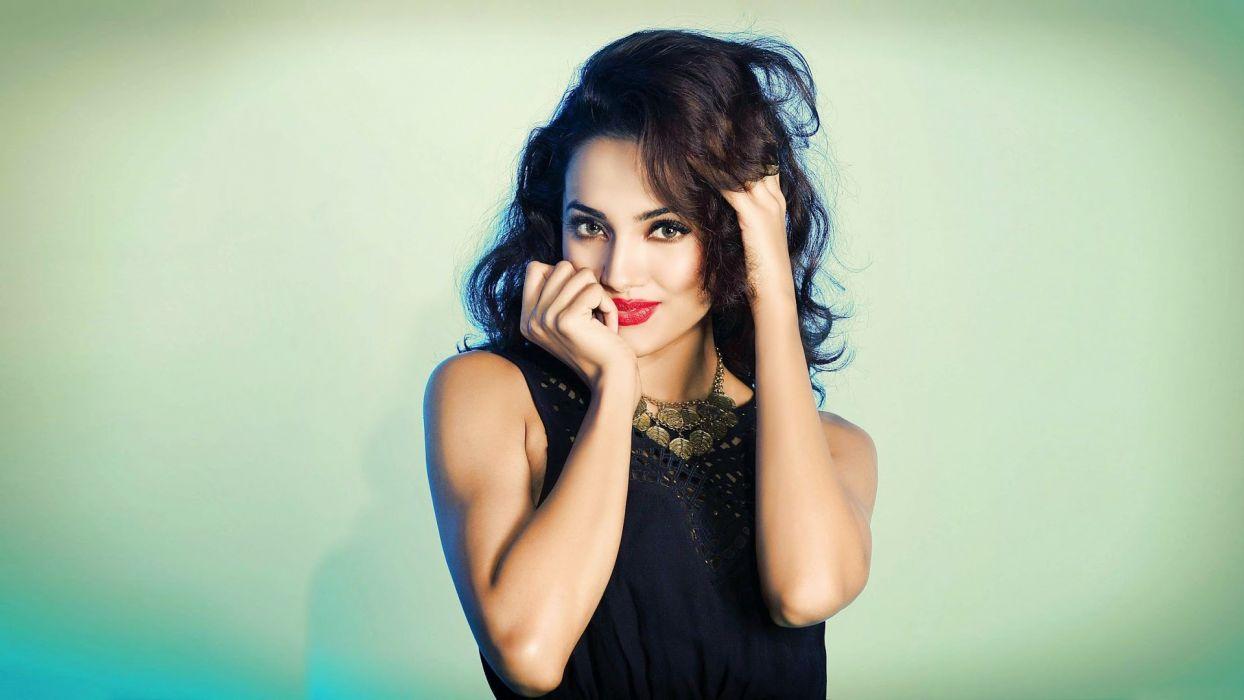 aaradhana anjali gupta bollywood actress model girl beautiful brunette pretty cute beauty sexy hot pose face eyes hair lips smile figure indian  wallpaper
