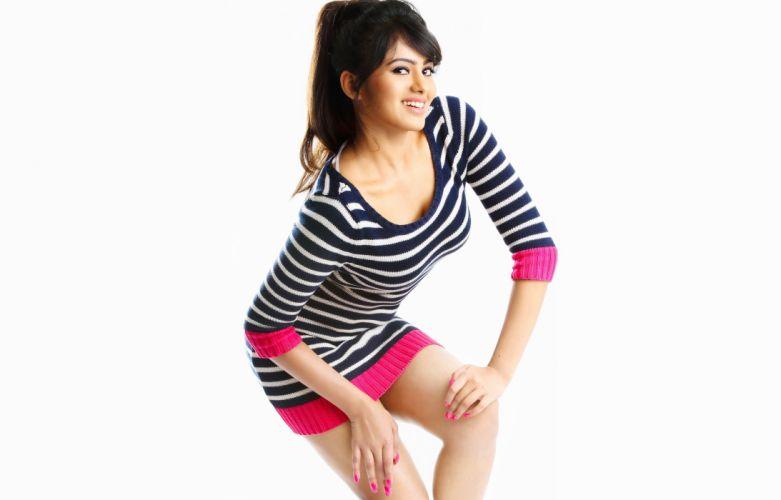 deepa sannidhi bollywood actress model girl beautiful brunette pretty cute beauty sexy hot pose face eyes hair lips smile figure indian wallpaper