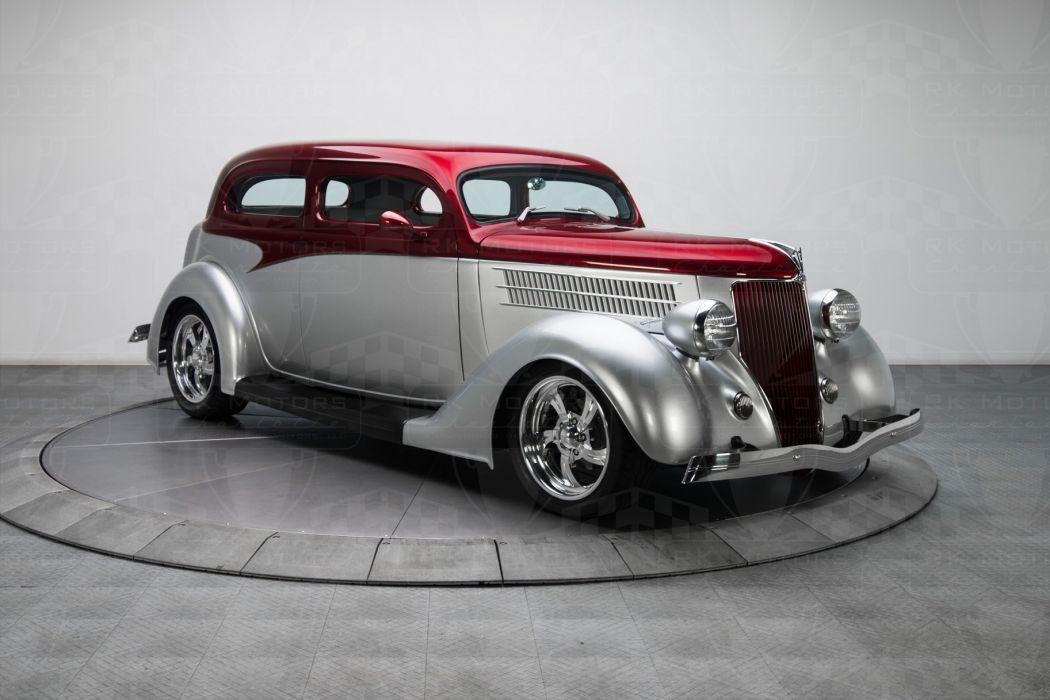 1936 Ford Sedan custom cars classic wallpaper