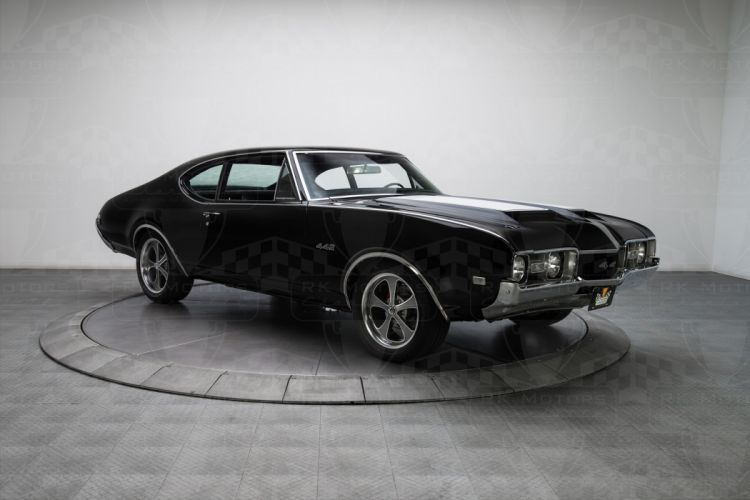 1968 Oldsmobile 442 coupe cars classic wallpaper