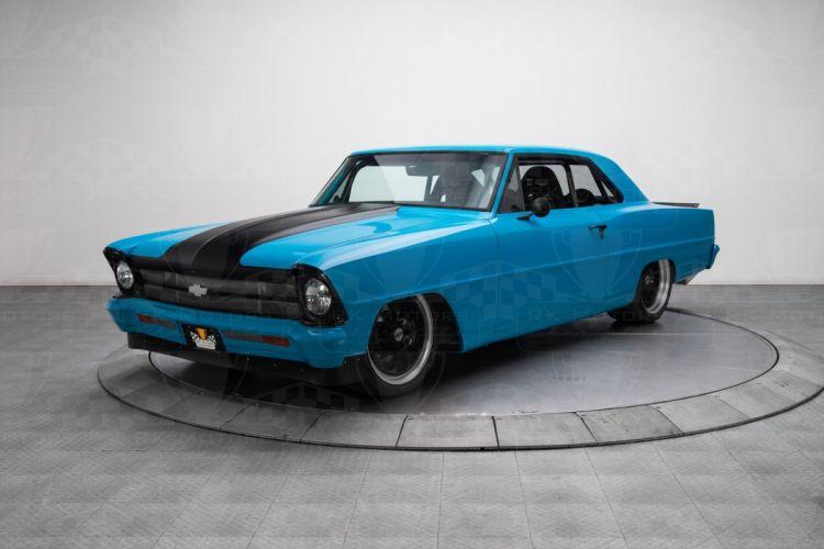 1967 Chevrolet Nova Pro Touring coupe cars classic wallpaper