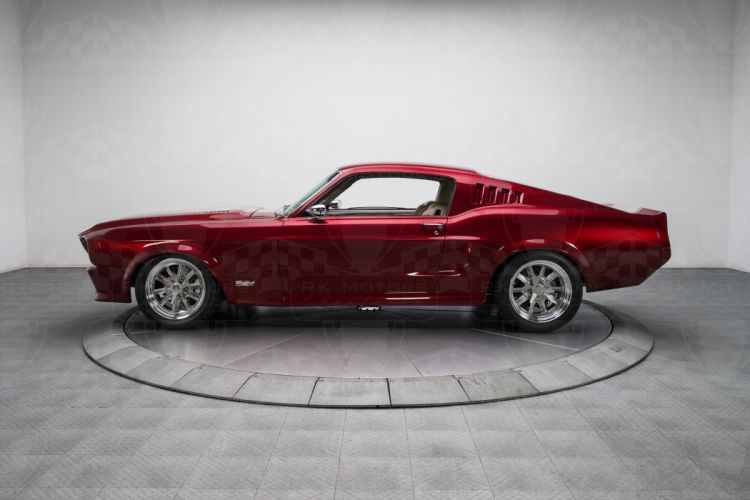 1968 Ford Mustang Pro Touring coupe cars classic wallpaper