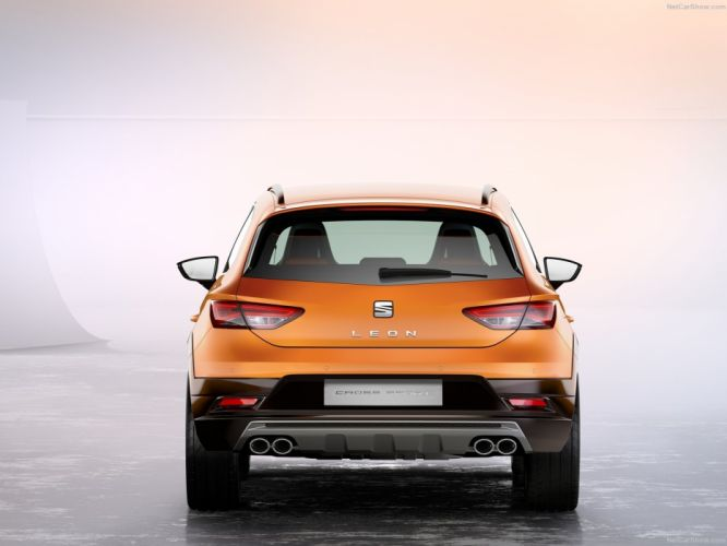 Seat Leon Cross Sport Concept cars 2015 wallpaper
